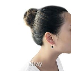 18K Gold Earring Hooks, Tahitian Black Pearls, dangle Earrings, big Pearl Earrings