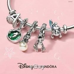 4 Authentic Pandora Charm Disney The Little Mermaid Ariel Flounder Sebastian New