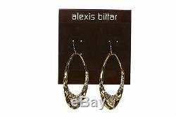 ALEXIS BITTAR Gold Oval Drop/Dangle Earrings 135468
