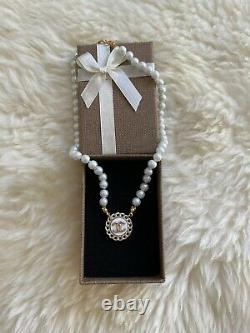 AUTHENTIC CHANEL pearl necklace, Choker Styled, Pinterest Necklace, Trend, Coco