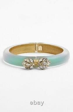 Alexis Bittar 167223 Womens'Lucite Jardin Mystère' Hinge Bracelet Blue