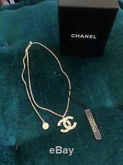 Amazing! CHANEL 100th Anniversary Gold Chainlink Necklace