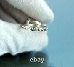Auth CHANEL Sterling Silver With Pearl Finger Ring 02 C US Size 6.5/EU 53 France
