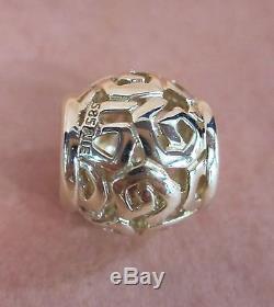 Authentic Pandora Amazing 14k Gold Bead #750464 Charm Beautiful Elegant F/sh