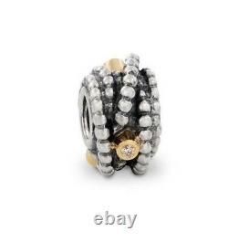Authentic Pandora Kerry's Precious Diamond Charm #790277d Retired Bargain$$ F/sh