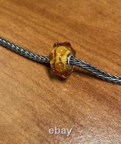 Authentic Trollbeads Amber Waters, Event, Exclusive Bead HTF! Ship Free