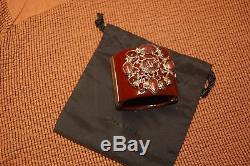 BEAUTIFUL, CLASSIC CUFF bracelet, Burgundy/brown