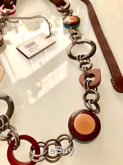 BNWB! BEAUTIFUL CHUNKY CHAIN&METAL STATEMENT DESIGNER NECKLACE by Marni