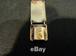 Beautiful David-andersen Norway Sterling Silver & Enamel Link Bracelet