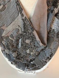 Beautiful MIGNONNE GAVIGAN Silk Chiffon Scarf Necklace