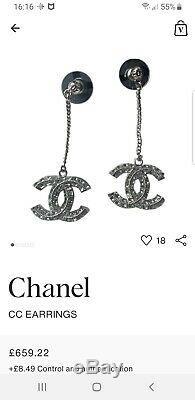 Beautiful chanel Dangle Earrings