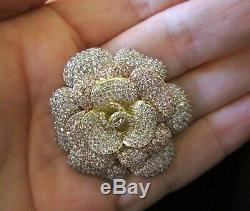 Chanel Brooch Pin-Three TonedBeautiful