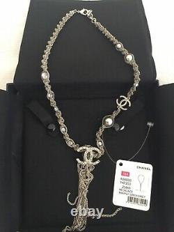 Chanel Chain Necklace with CC Pendant. France
