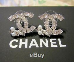 Chanel Earrings-Amazing Sparkle! Truly Beautiful