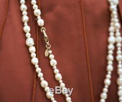 Chanel Pearl and CC Necklace Beautiful
