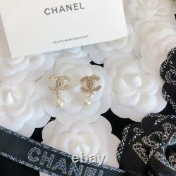 Chanel earrings are very delicate and beautiful