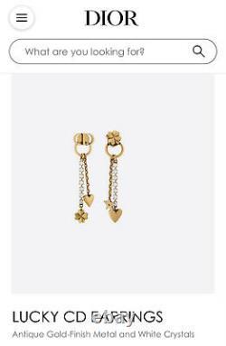 Christian Dior Lucky Earrings