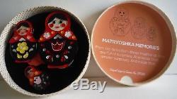 Erstwilder Brooch Set Matryoshka Memories new in box Beautiful