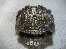HEIDI DAUS Bracelet SPECTACULAR Swarovski Crystals NIB BIG BOLD & BEAUTIFUL