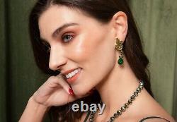 HEIDI DAUS Eternal Love Crystal Drop Earrings NWT