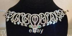 Heidi Daus Beauty & The Beast Feast Your Eyes Crystal Link Bracelet $230 Ret