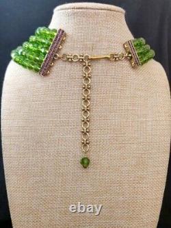 Heidi Daus For the Birds Bird-Design Crystal Multistrand 20-1/4 Necklace NEW