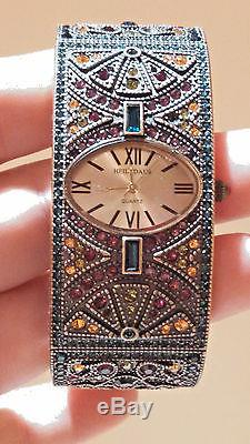 Heidi Daus Once Upon A Time Bangle Bracelet with Swarovski Crystals Beautiful