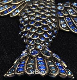 Heidi Daus Soaring Beauty Crystal Bird Pin