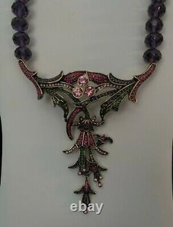 Heidi Daus The Rare Beauty beaded drop necklace