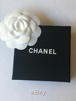 Htf Large Chanel Pearl & Crystal Iconic CC Logo Brooch, Original Packaging, Vgc