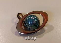 JUICY COUTUREPave Rhinestone Welcome to Planet Juicy Charm EXTREMELY RARE