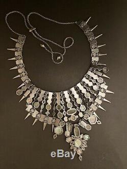 KENDRA SCOTT SERAPHIMA BEAUTIFUL NECKLACE Silver Tone