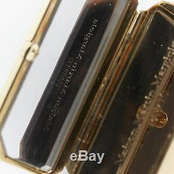 MAISON MARGIELA Beauty Tools gold-tone metal large hinged mirror statement ring