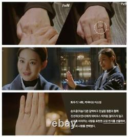 MiniGOLD Hwaugi Korea Drama Oh Yeonseo's Connective Ring 10K Gold RTRM0001