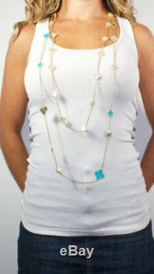Mother of pearl motif necklace