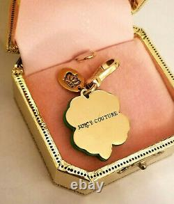 NEW IN BOX NWT Juicy Couture Green Clover Shamrock Charm YJRU3734 Lim Ed Box Tag