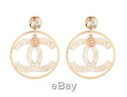 NEW authentic chanel earrings LUXURY