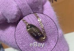 NWOT Limited Authentic Louis Vuitton Nanogram Bracelet Accessories Gold Silver