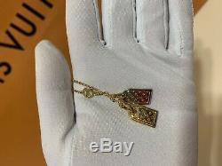 NWT Limited Authentic Louis Vuitton Nanogram Bracelet Accessories Gold Silver