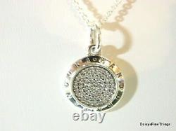 New! Authentic Pandora Silver Signature Necklace #390375cz-70 27.6