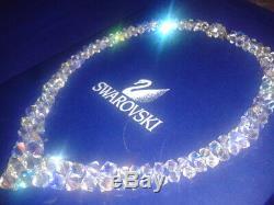 New Swarovski Element Crystals Wedding Necklace
