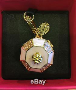 Nwt Juicy Couture 2014 Ltd Ed Pink Music Jewelry Box Charm Yjru7598