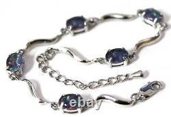 Opal Bracelet 5 Natural Opal stones From Lightning Ridge NSW Australian
