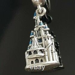 Pandora DIsney Sleeping Beauty Castle Disneyland Paris Exclusive 797151 RARE