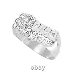 Personalized Sterling Silver AND Gold Plated Script Any Name Ring 3 Styles