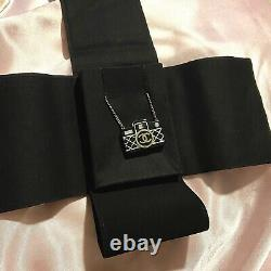 RARE CHANEL Coco Mark Camera Necklace, Black Gold, D19C, AUTHENTIC, Brand New