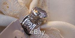 Silpada Queen For A Day Sterling Silver 925 Size 7 Beautiful Ring, Excellent