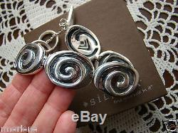 Silpada Sterling Silver Swirl Arrowhead Bracelet B1867 Beautiful! $299