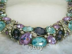 Stunning Heidi Daus Crystal Necklace Crystal Collar New, Sold Out $ 235.00