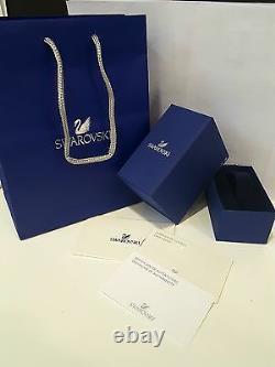 Swarovski 5224182 Subtle Double Rose Gold Bracelet 14cm-24cm RRP$149